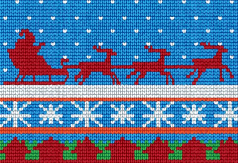 The Big List Of Free Christmas Knitting Patterns 100