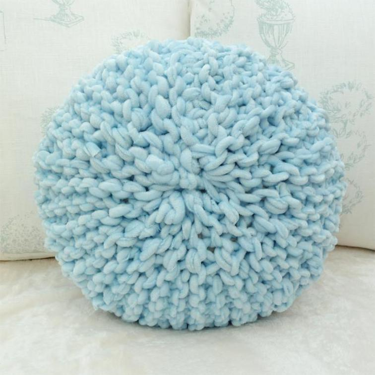 Knitting Pillow Pattern : Favorite pillow cover knitting patterns women