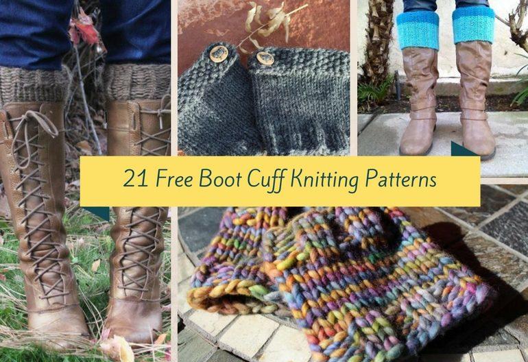 21 Free Boot Cuff Knitting Patterns Knitting Women
