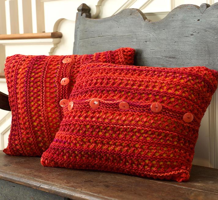 6 Favorite Pillow Cover Knitting Patterns | Knitting Women