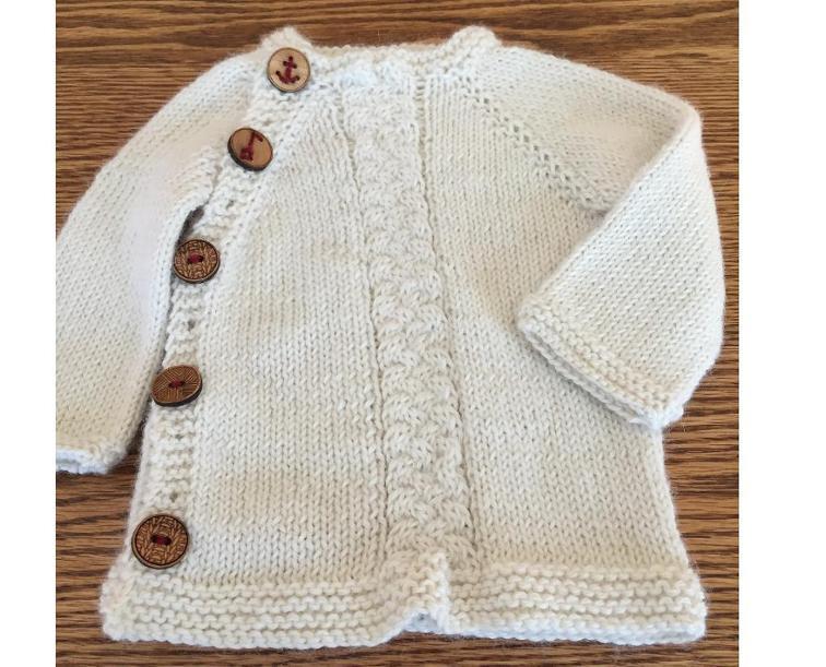 7 Adorable Baby Cardigan Knitting Patterns (Free!) | Knitting Women