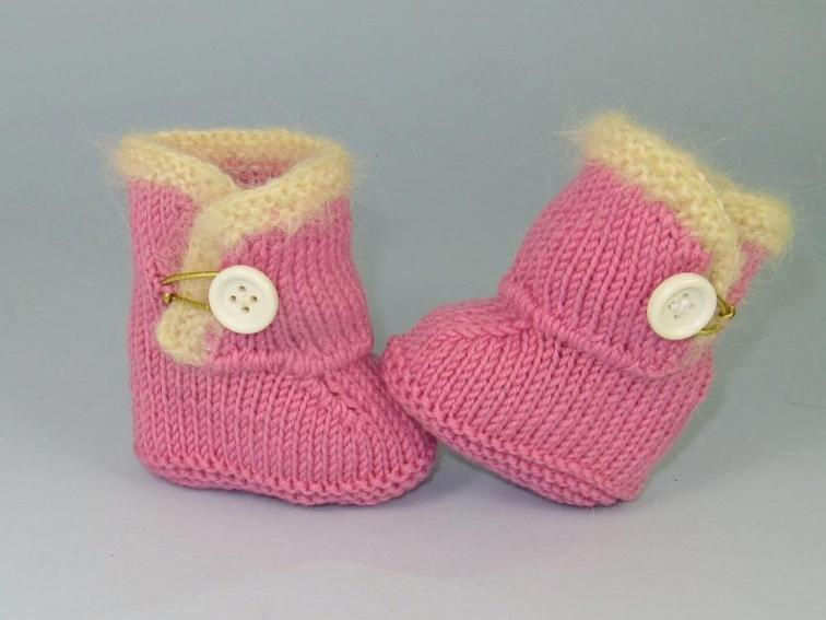 Baby Chick Booties Knitting Pattern : The Cutest Ever Baby Booties! 11 Free Knitting Patterns ...