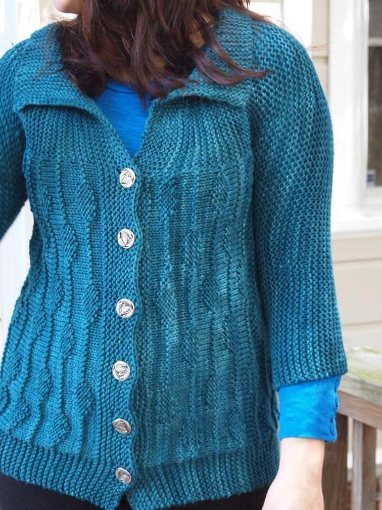 Knitting Patterns For Women : 10 Gorgeous (and Free) Knitting Patterns for Womens Cardigans Knitting...