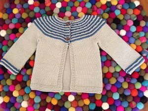 Free baby girl knitting patterns 13 top picks knitting women gidday baby is a superbly simple cardigan a striped garter stitch circular yoke is accentuated with cute buttons and a stocking stitch body dt1010fo