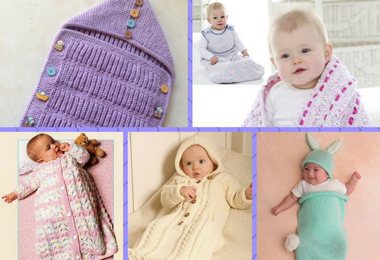 10 Most Precious Baby Cocoons Including Free Knitting Patterns