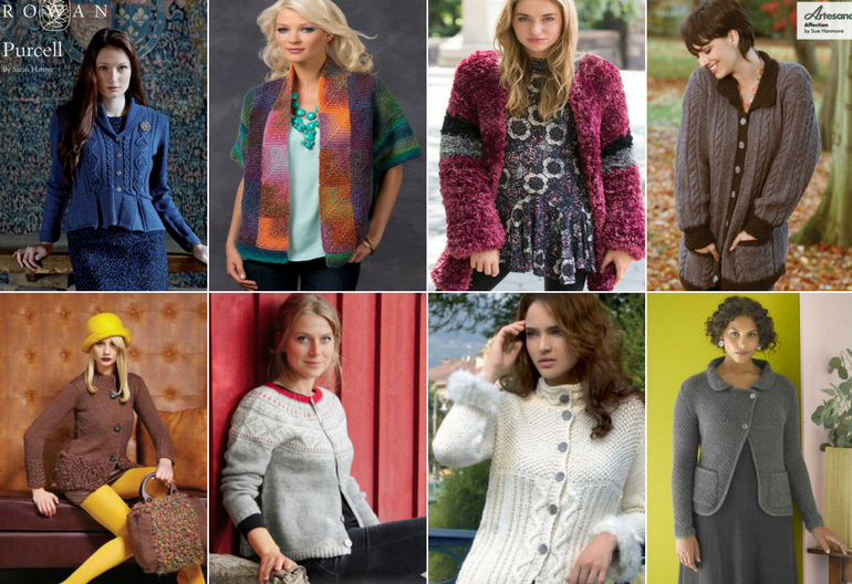 30+ Free Knitting Patterns for Ladies Jackets | Knitting Women