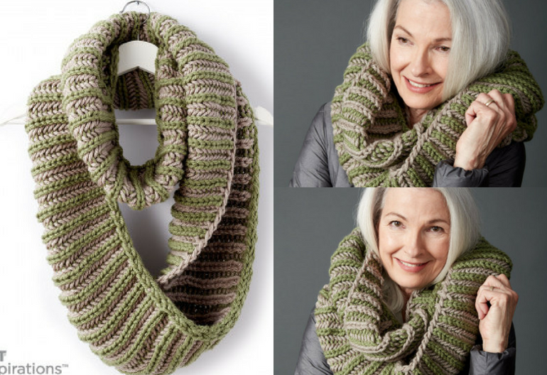 How to Knit the Brioche Accent Cowl (Free Pattern + Video ...
