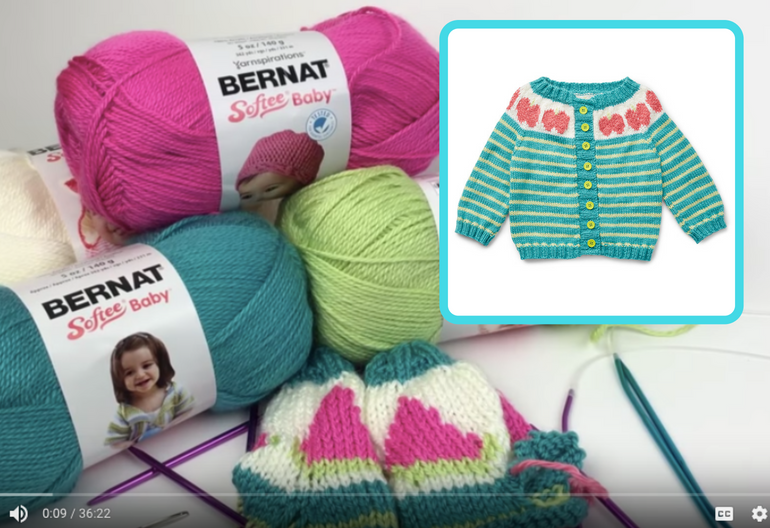 4f2483be21b2b How to Knit the Five a Day Cardigan (Video Tutorial + Free Pattern ...