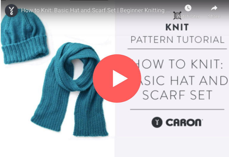 How to Knit a Basic Hat and Scarf (Perfect for Beginner's)