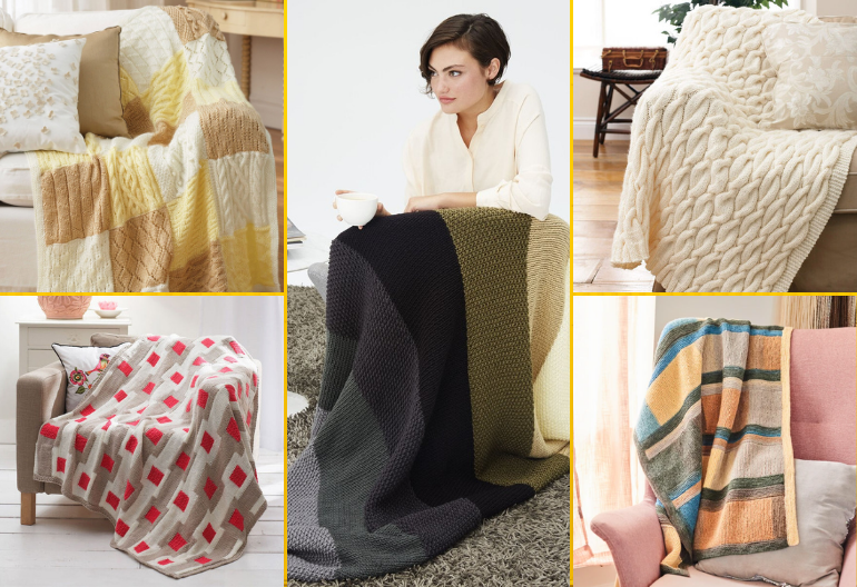 9 Free Knitting Patterns for Afghan Blankets