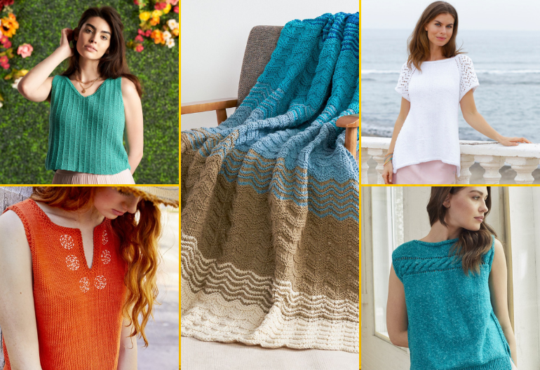 Summer Knits - 9 Free Knitting Patterns