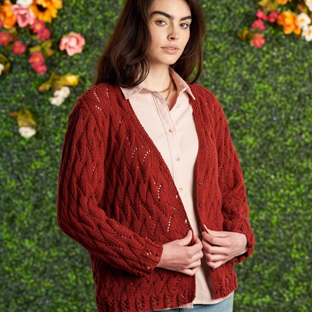 Knit Lacy Summer Knit Cardigan